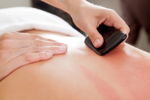 Gua Sha is used to treat a number of issues