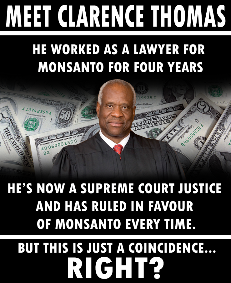 Clarence Thoman revolving door Monsanto GMO