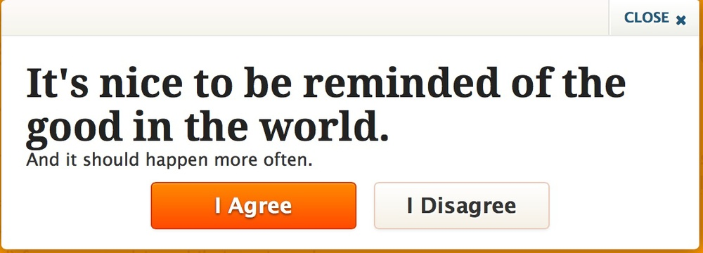 upworthy it's nice to be reminded of the good in the world 30 days of thanks