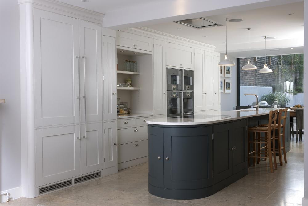 Holland Park Kitchen — Tim Moss | Bespoke Handmade Kitchens ...