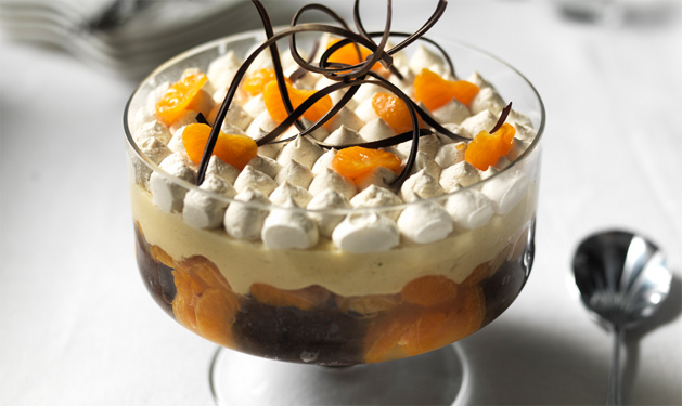 Chocolate Marmalade Trifle
