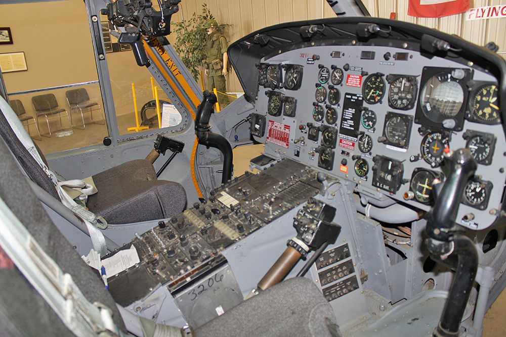 Restored UH-1 Cockpit