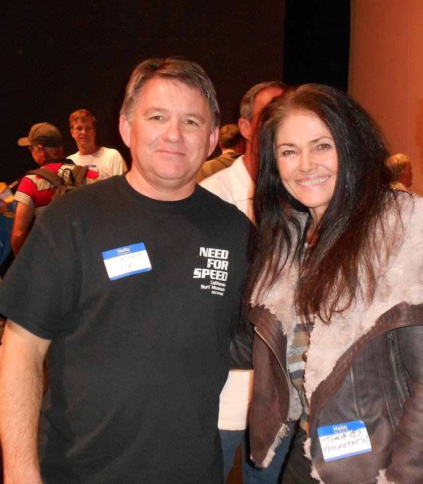 Guy Grundy and Tina Trefethen at the 2013 premier.