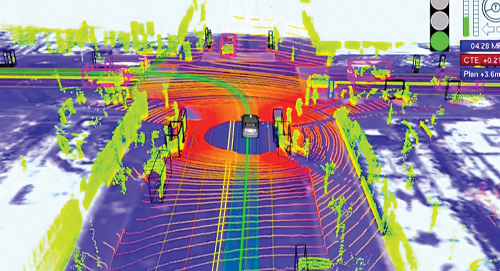 LIDAR visualized