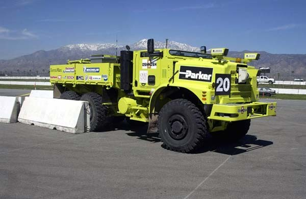 """TerraMax"" Created by Oshkosh Defense."