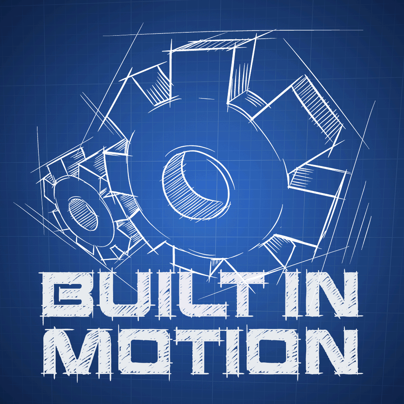 Built In Motion - Life and Engineering Logo