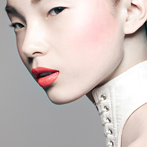 Vogue China.  'White Swan',  with Liz Collins & Jonathan Kaye.