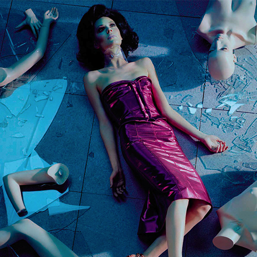 Vogue Italia.  'Mannequin Thriller'  with Miles Aldridge.