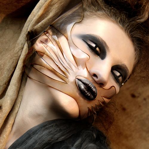 'Burn' Face Corsets