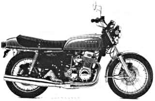 1975 CB750 F0