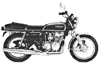 1976 CB750 F1