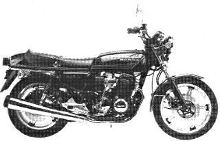 1977 CB750 F2