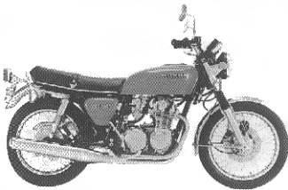 1976 CB550 F1