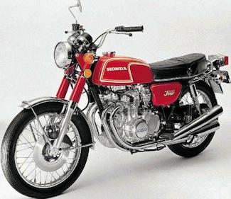 1972/1973 CB350F0