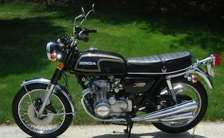 1974 CB350F1