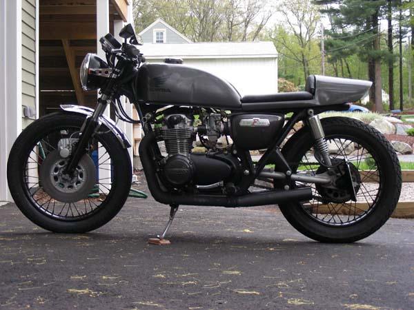 1975 CB550 Owner: Aaron Richard