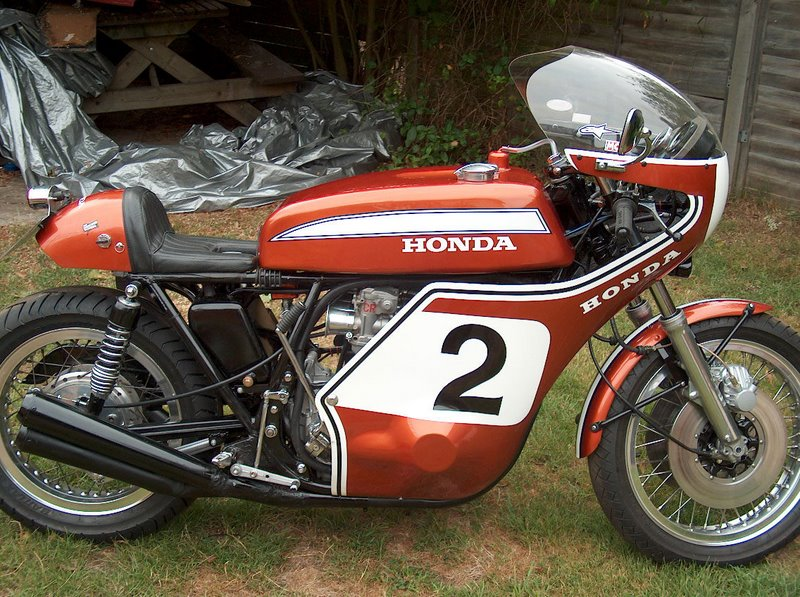 Mike M.'s CR750 Daytona/Mann Replica