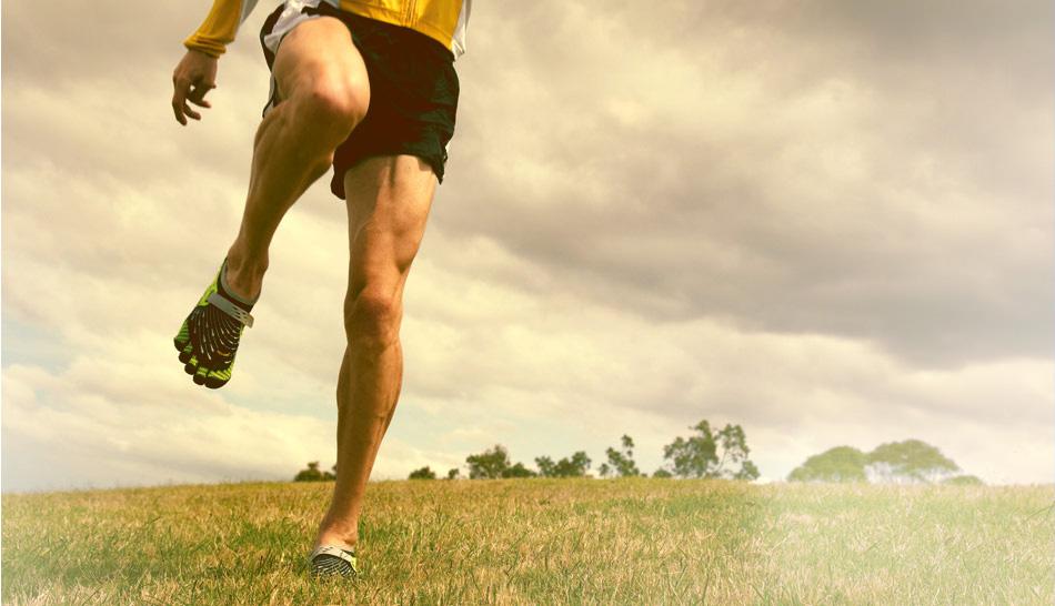 vibram five fingers for running