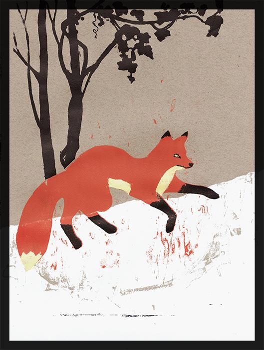 Fox • Rosie Ruzicka, 2013