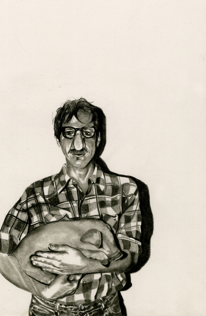 Emma Jennings  •  Untitled , graphite on paper, 2013, $350 framed