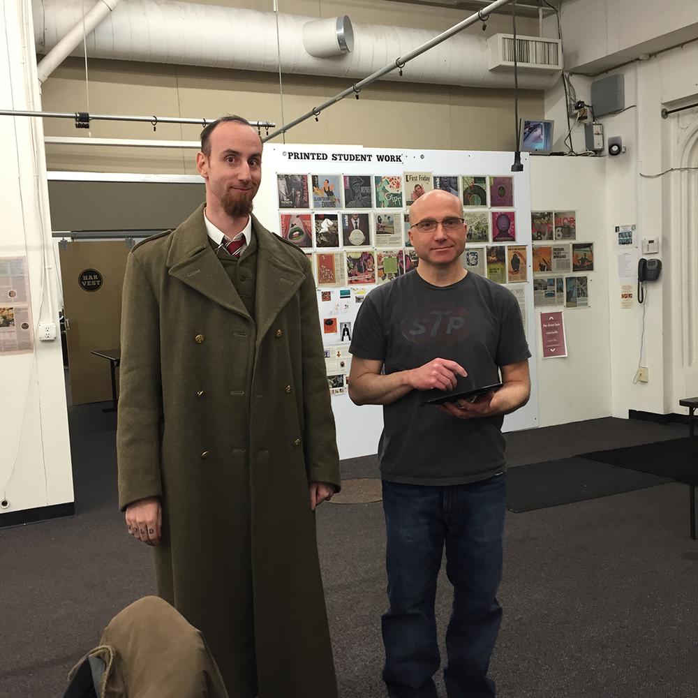 Steven Sanders and John Bergin