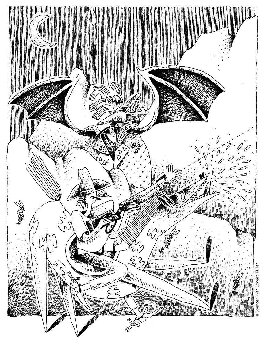 Spencer Ryan Edward Pullen / senior illustration