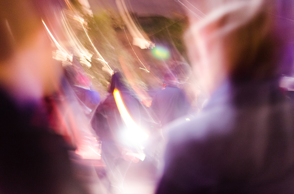 Abstract marching photo from December 8th that I just included because I like it - photo by Kyle Cameron