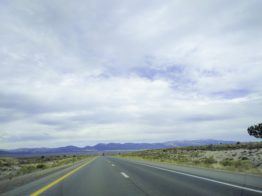 The vast nothingness of Nevada