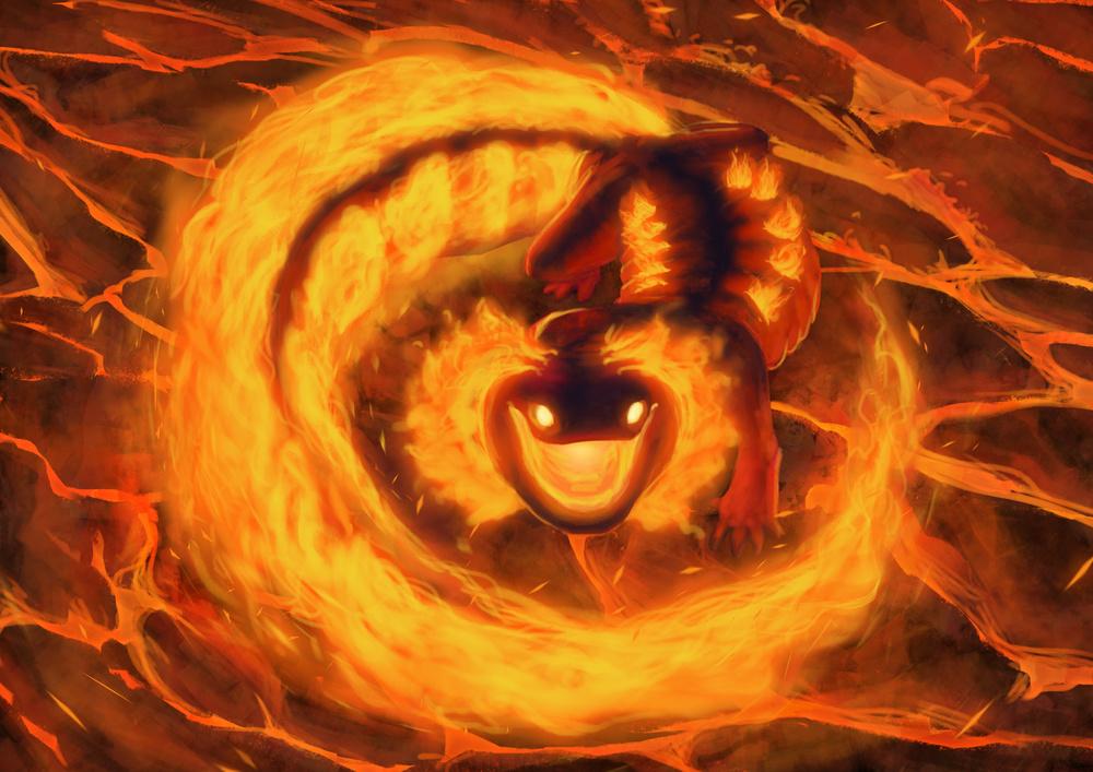 Flaming Salamander