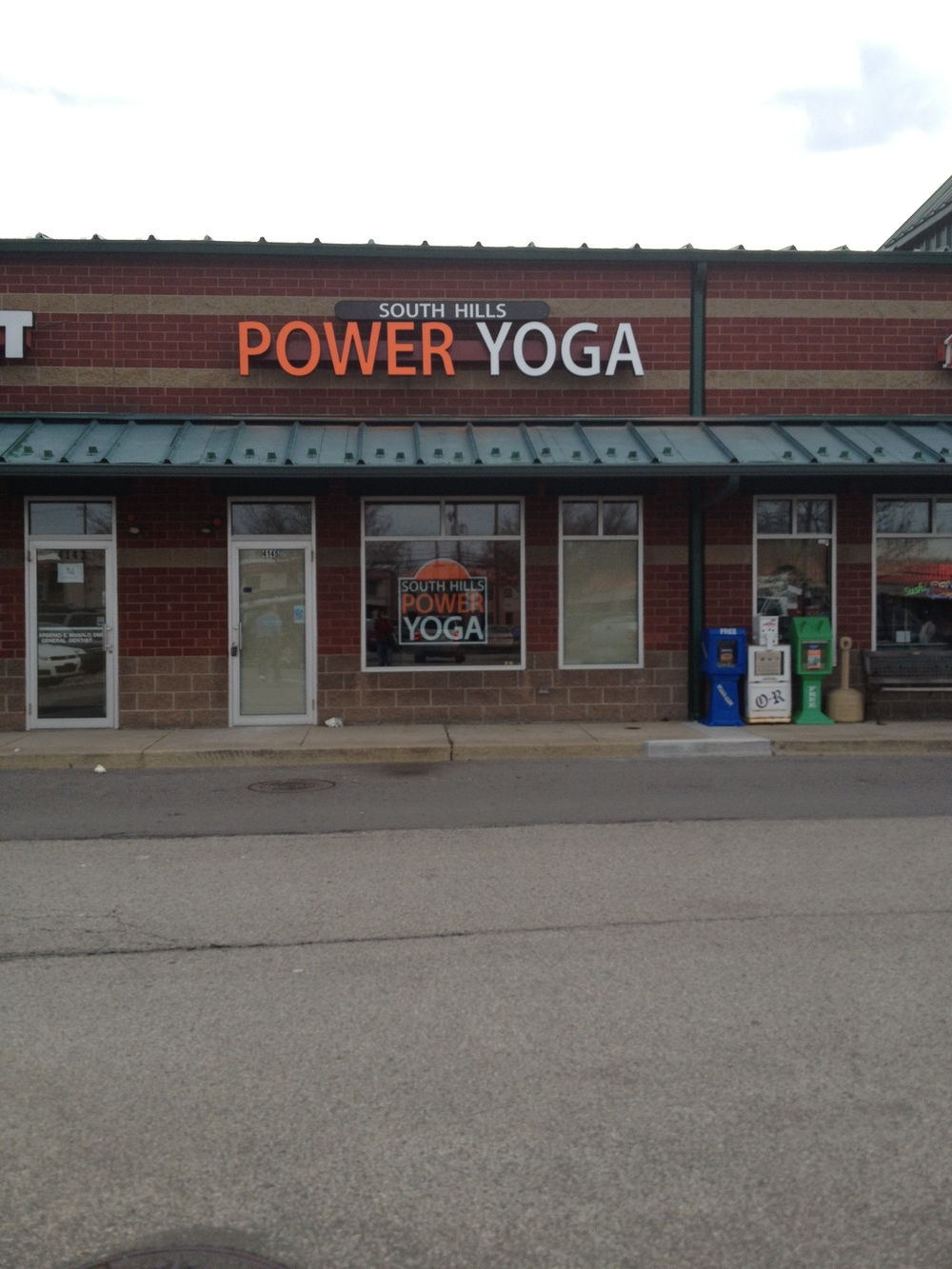 South Hills Power Yoga - Peters Township Opening January 2013 Photo Credit: SHPY