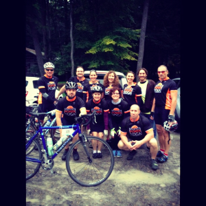 Team SHPY Cook Forest River Ride - 2012