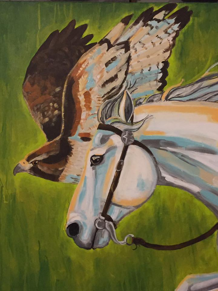 Carissa Sorenson horse.bird.jpg