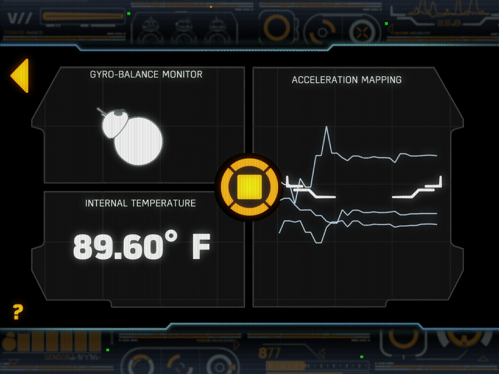 Figure 4-7 Screenshot of BB-8 application when BB-8 is in patrol mode