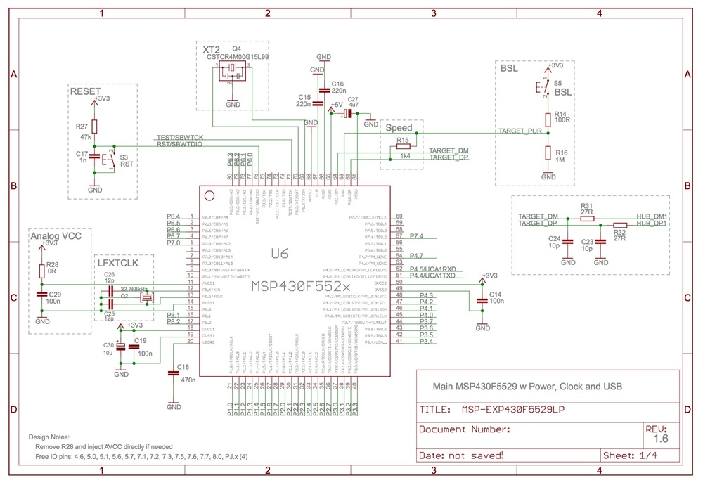 ti launchpad schematic  | embedded.fm