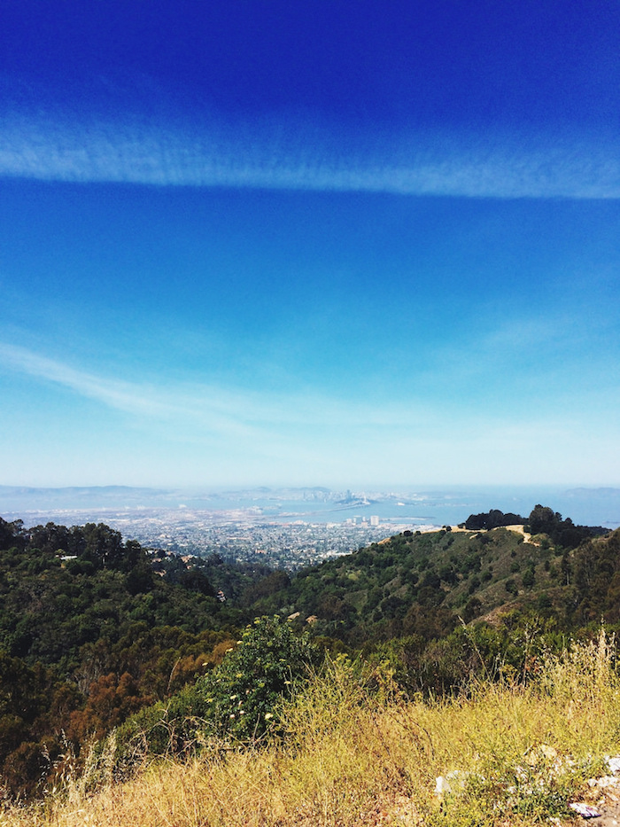 View from the Berkeley Hills.