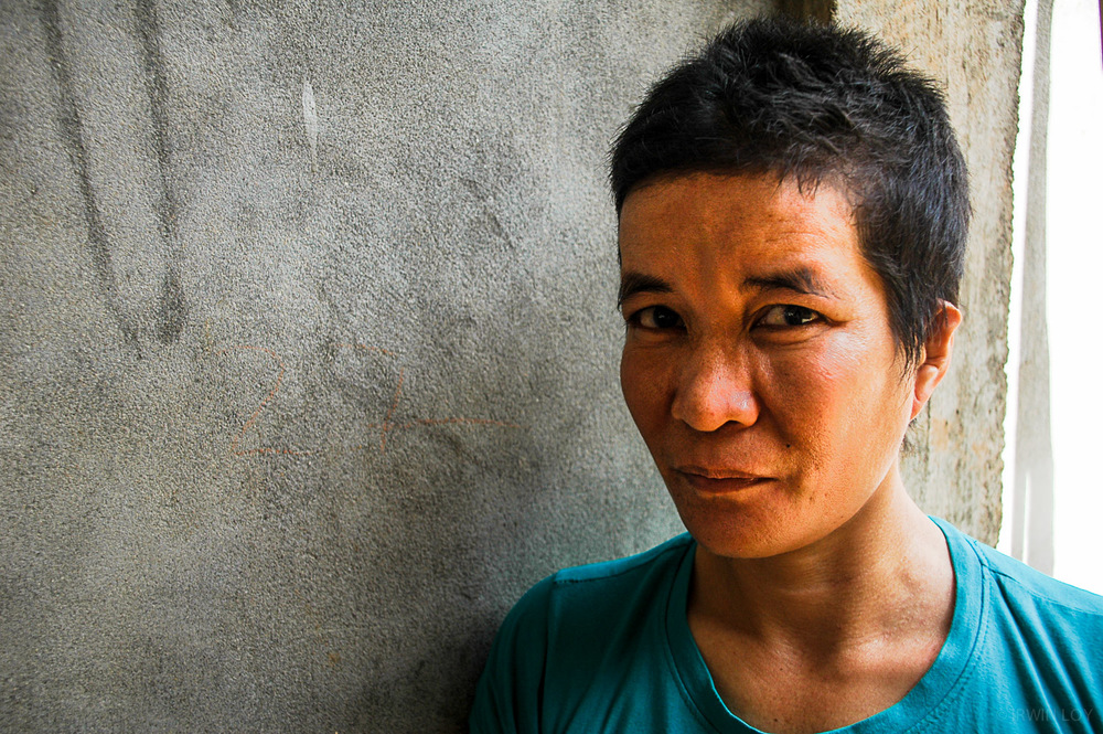 Lay Limheang, a former domestic worker, claims she faced constant physical abuse when she worked as a maid in Malaysia.
