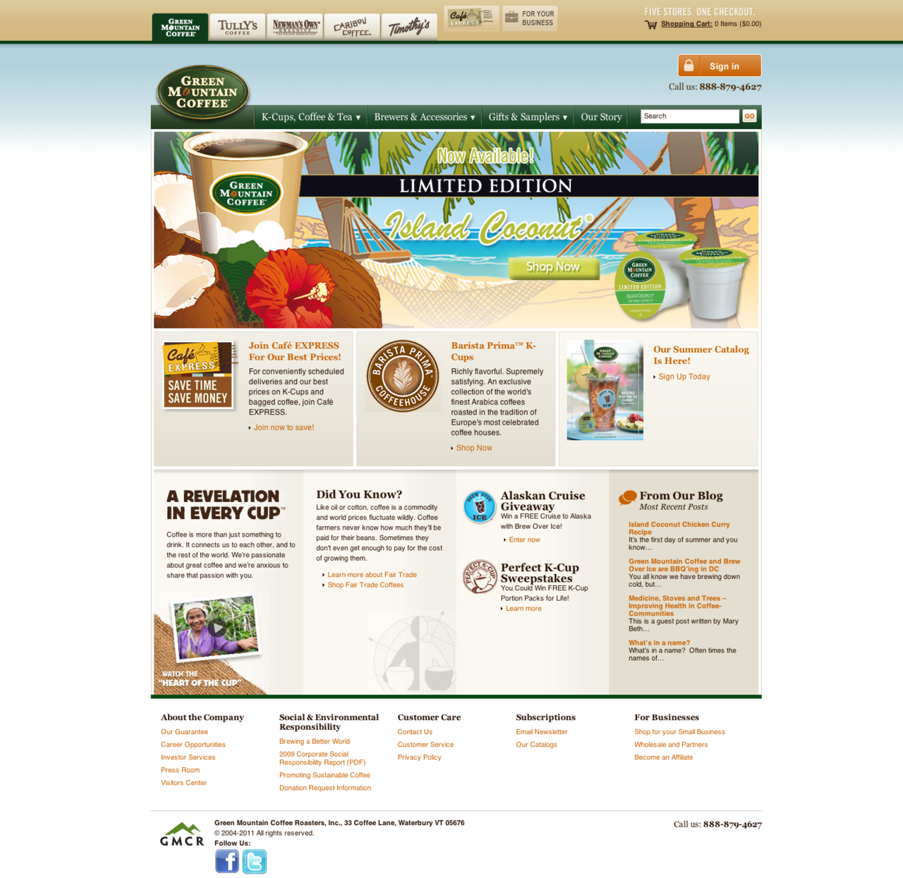 www.greenmountaincoffee.com