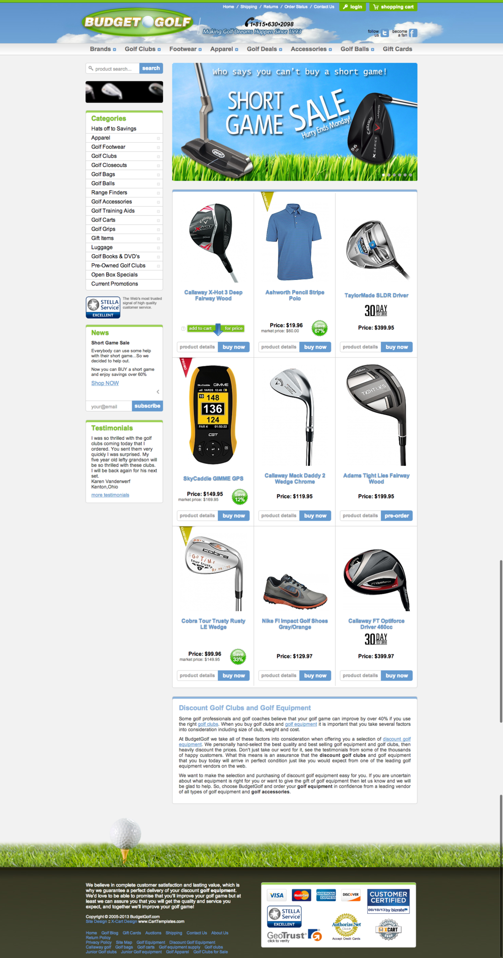 Kids Golf Clubs  Discount Golf Clubs  Discount Golf.png
