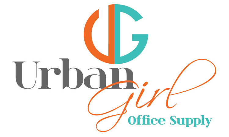Urban Girl Office Supply Logo.