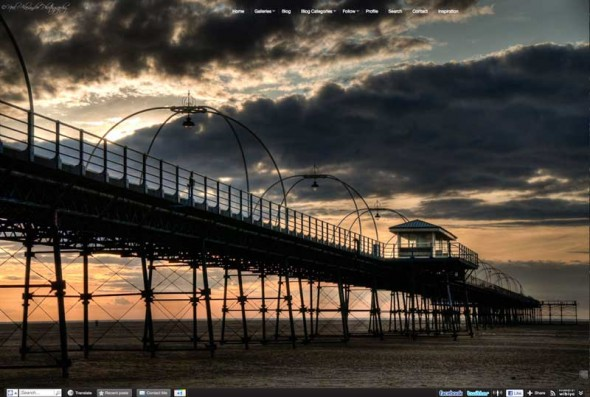 N eil Alexander Photography Portfolio Site Screenshot