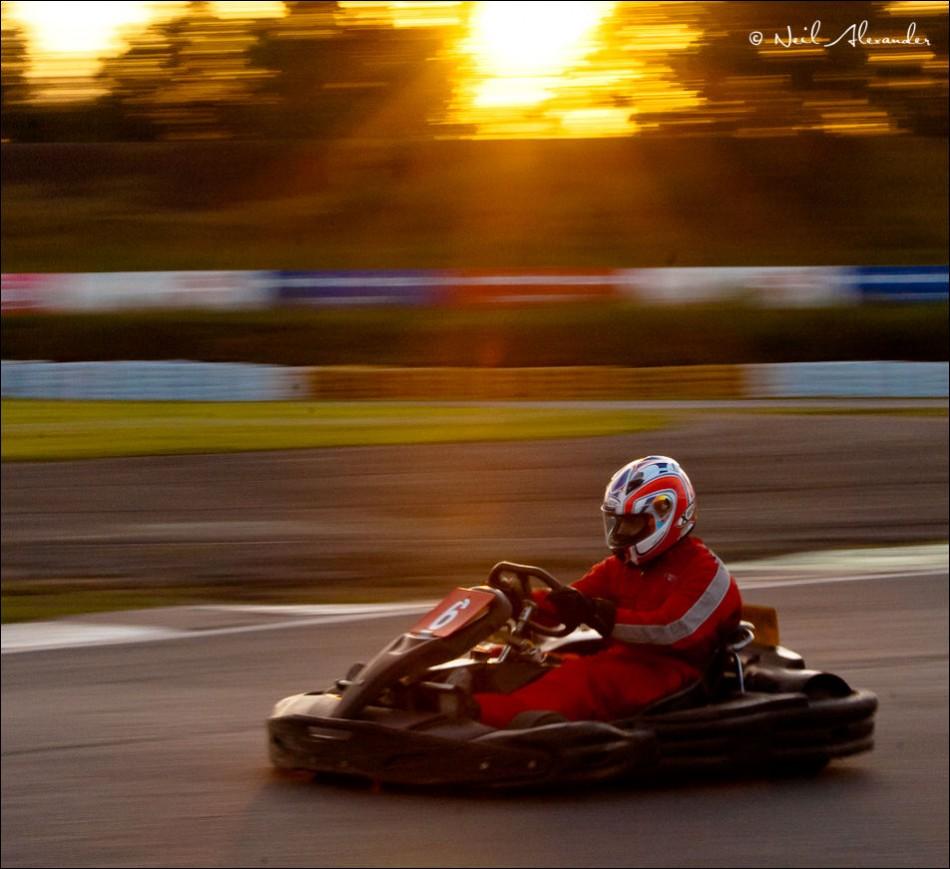Go Karting at 3 Sisters, Wigan