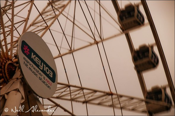 The Manchester Wheel (previously MEN now Key 103) (Click for larger)