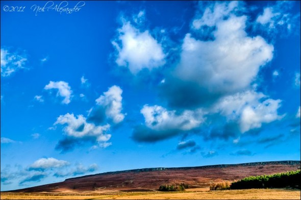 Stanage Edge, Peak District (Click to view larger)
