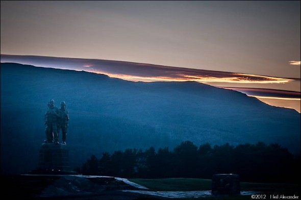 Royal Marines Commando Memorial near Spean Bridge