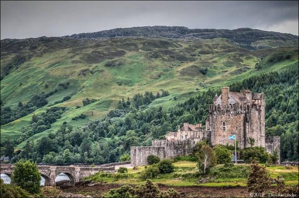 Eilean Donan Castle, Dornie, Kyle of Lochalsh