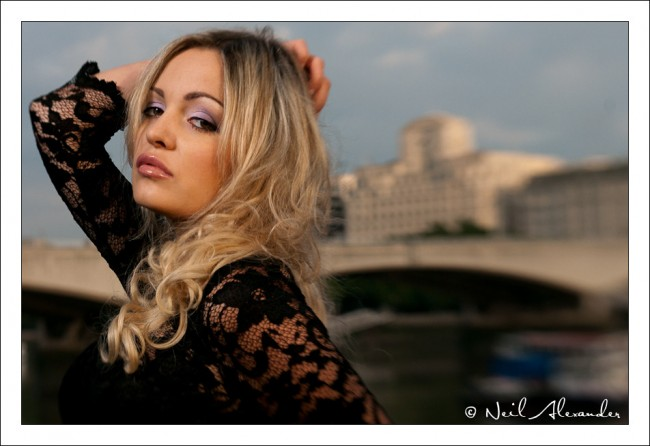 South Bank Portrait Shoot - Karolina Szwemin by Neil Alexander
