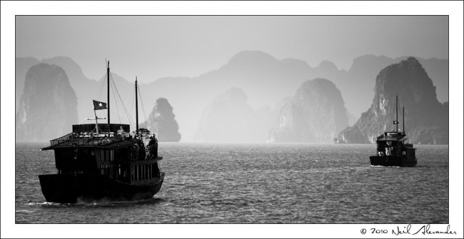 Ha Long Bay by Neil Alexander