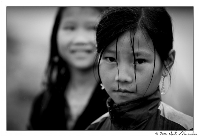 N orth Vietnamese children by Neil Alexander