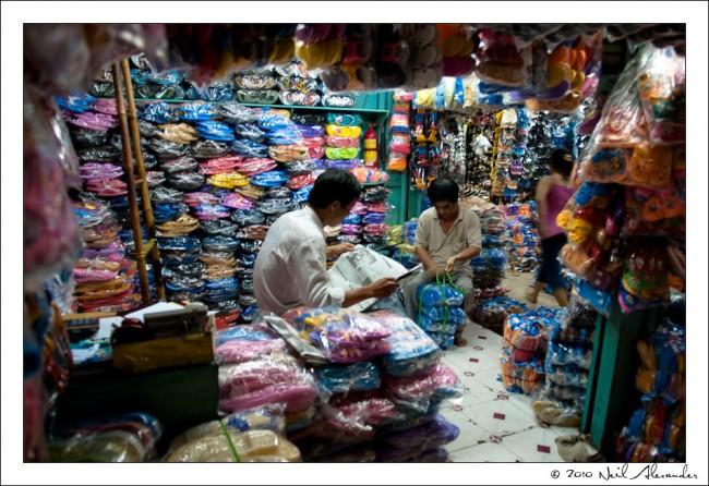 "The ""Big Market"", Saigon by Neil Alexander"""