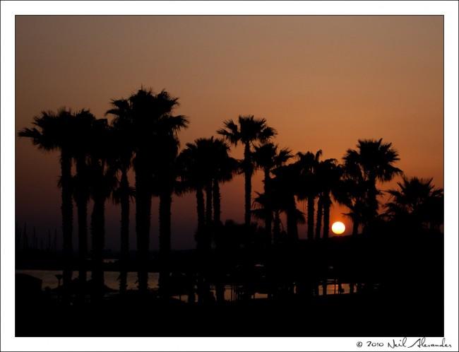 Limassol Shoreline at dawn by Neil Alexander